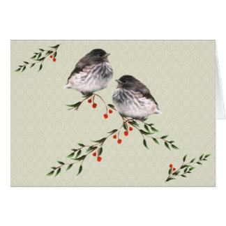 Baby Juncos Christmas Card