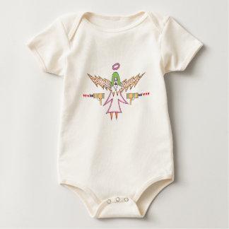 baby justice bodysuit