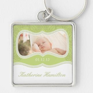 Baby Keepsake Photo Keychain