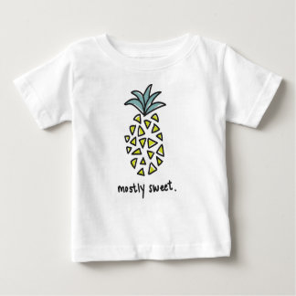 "Baby/Kids ""Mostly Sweet"" Pineapple Tee"