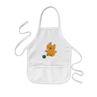 Baby Kitty Chan Kids Apron