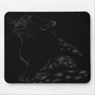 baby kitty mouse pad