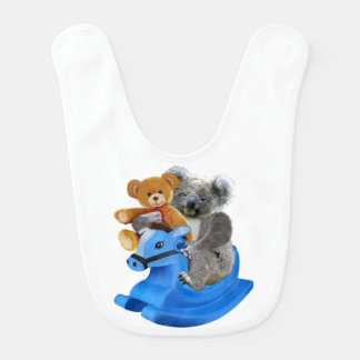 BABY KOALA BEAR DREAMS BIB