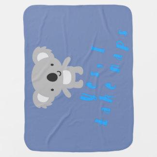 Baby Koala Loves To Nap Baby Blanket