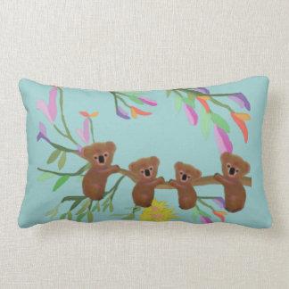Baby Koala Outing Lumbar Pillow