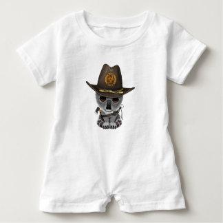 Baby Koala Zombie Hunter Baby Romper