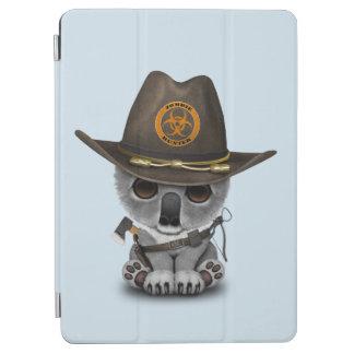 Baby Koala Zombie Hunter iPad Air Cover