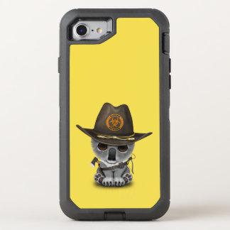 Baby Koala Zombie Hunter OtterBox Defender iPhone 8/7 Case