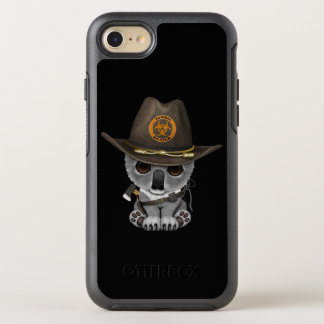 Baby Koala Zombie Hunter OtterBox Symmetry iPhone 8/7 Case