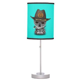Baby Koala Zombie Hunter Table Lamp