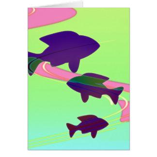 Baby Koi Fish Card