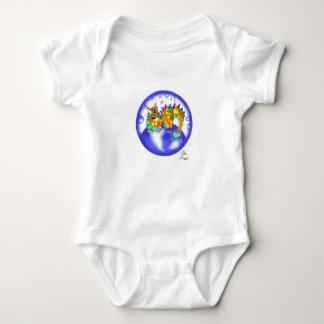 Baby Koi Lung baby bodysuit
