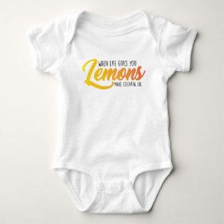 Baby Lemon Onsie Baby Bodysuit