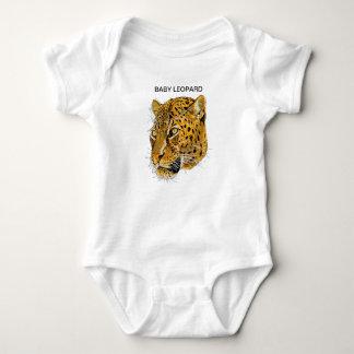 BABY LEOPARD CAT BABY BODYSUIT
