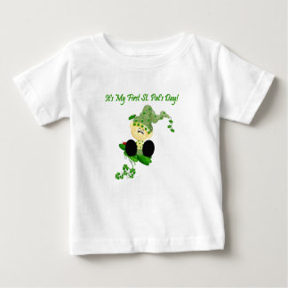 Baby Leprechaun 1st St. Patricks Day T-shirt