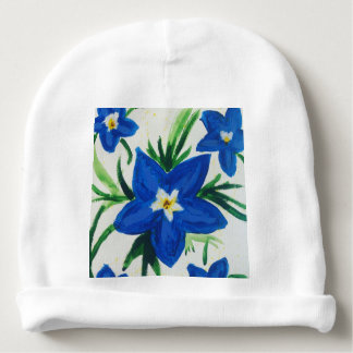 Baby Lily Flower Baby Beanie