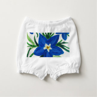 Baby Lily Flower Diaper Cover