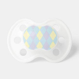 Baby Linen Argyle Pacifier