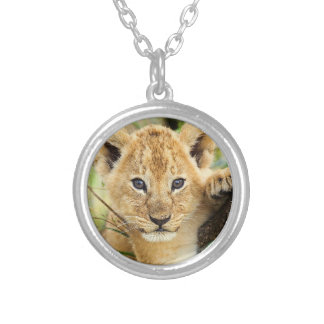Baby Lion Cub Necklace