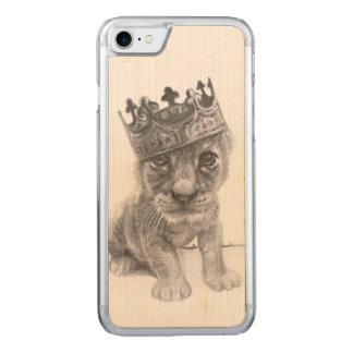 Baby lion iPhone 6 Carved iPhone 7 Case