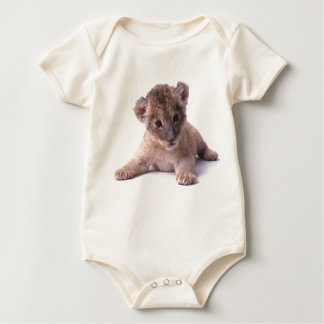 Baby Lion Organic Baby Bodysuit