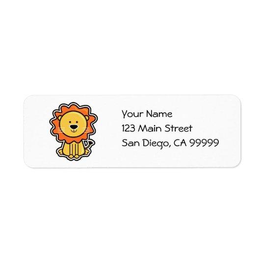 Baby Lion Sticker