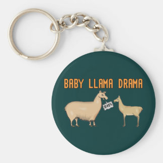 Baby Llama Drama Keychains