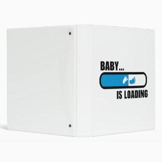Baby loading feet 3 ring binders