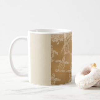 Baby loggerhead turtles coffee mug