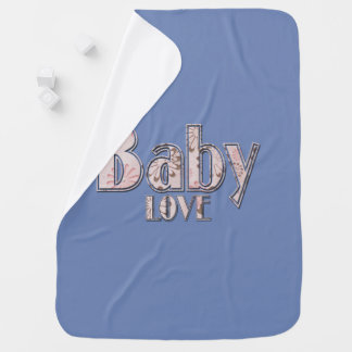 Baby love baby blanket