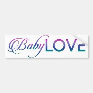 Baby Love Bumper Sticker