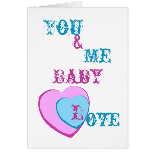 Baby Love-Customize Card