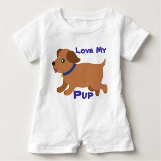 Baby Love My Pup Romper