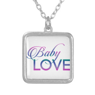Baby Love Silver Plated Necklace