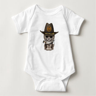 Baby Lynx Zombie Hunter Baby Bodysuit