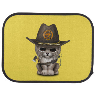 Baby Lynx Zombie Hunter Car Mat