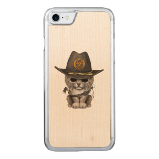 Baby Lynx Zombie Hunter Carved iPhone 8/7 Case