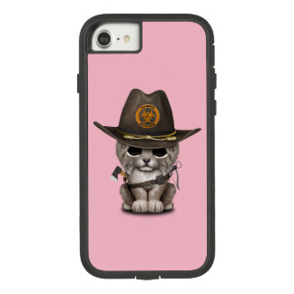 Baby Lynx Zombie Hunter Case-Mate Tough Extreme iPhone 7 Case