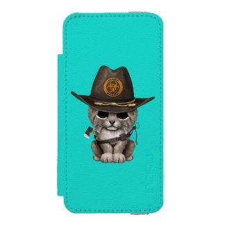 Baby Lynx Zombie Hunter Incipio Watson™ iPhone 5 Wallet Case