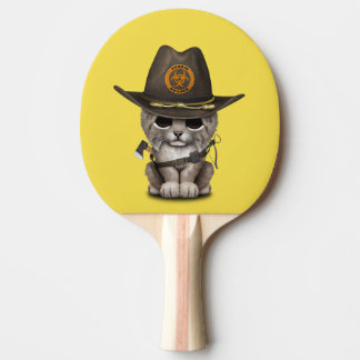 Baby Lynx Zombie Hunter Ping Pong Paddle