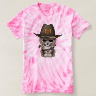 Baby Lynx Zombie Hunter T-shirt