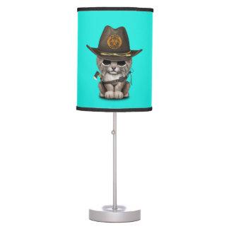 Baby Lynx Zombie Hunter Table Lamp