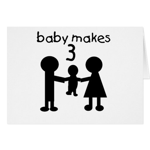 Baby Makes 3 Cards