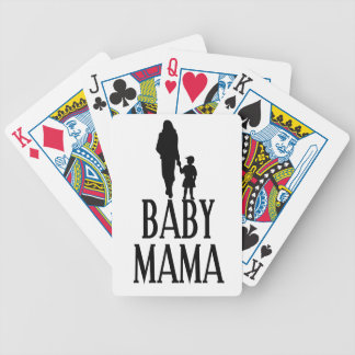 Baby mama(1) bicycle playing cards