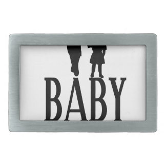 Baby mama(1) rectangular belt buckles