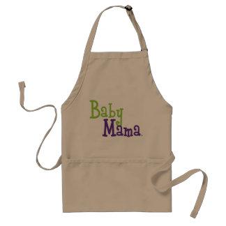 """Baby Mama"" Standard Apron"