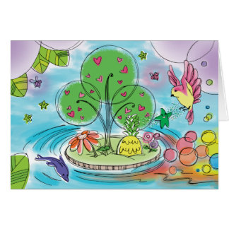'baby max' Magical Place Greeting Card