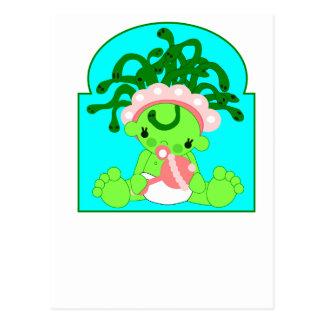 Baby Medusa Postcard