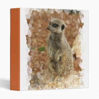 Baby Meerkat Binder
