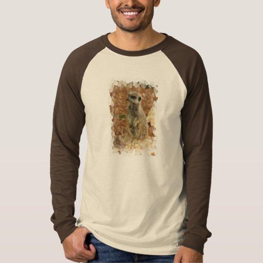 Baby Meerkat Men's Long Sleeve T-Shirt